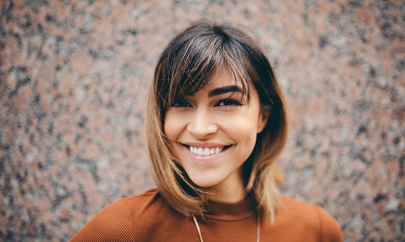beautiful smile girl