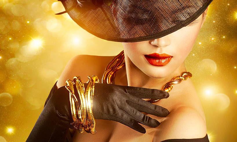 beautiful woman jewelry