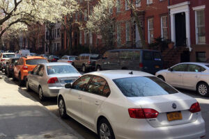 cars on street in new york