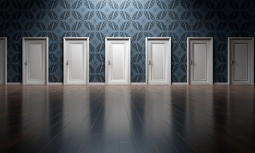 multiple doors choices