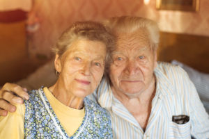 old couple portrait photo