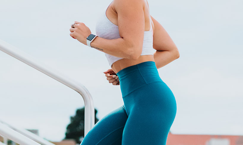 staying fit running