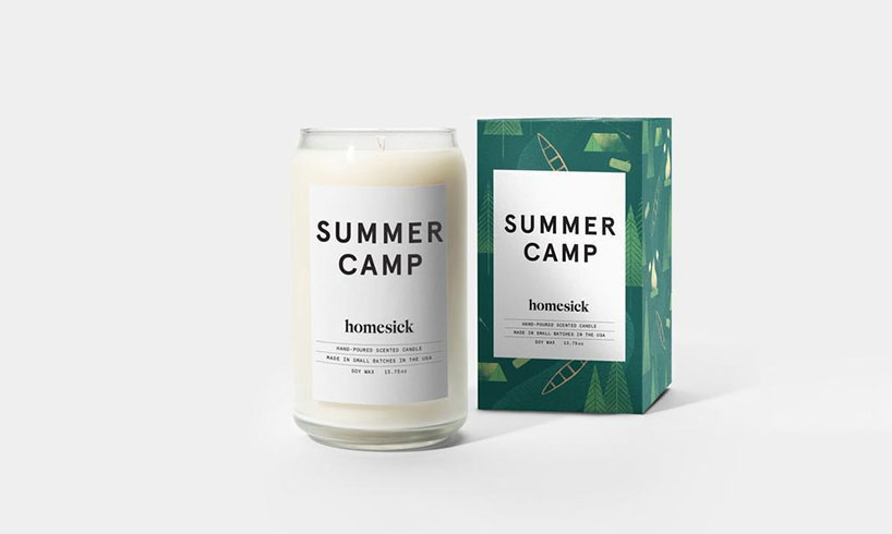 summer camp smell candles
