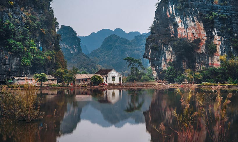 village in vietnam